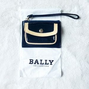 BALLY SWITZERLAND authentic patent leather wallet